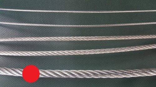 Stahlseil Ø 8 mm verzinkt - 1