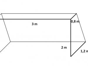 Fußballnetz am Tor N PPV 120/3,0 mm weiß