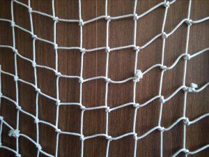 Handgeflochtenes Deko-Netz, Baumwolle 100/7,0 mm
