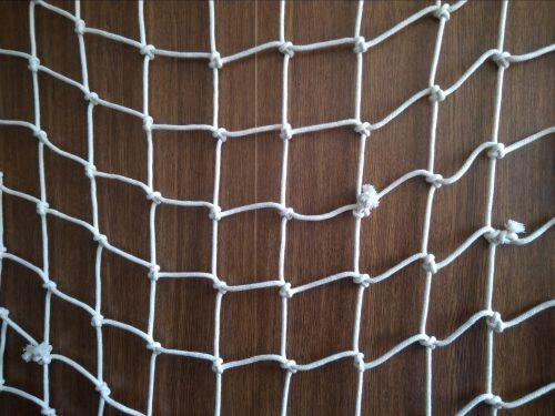 Handgeflochtenes Deko-Netz N, Baumwolle 100/5,0 mm - 1