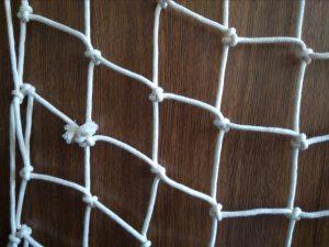 Handgeflochtenes Deko-Netz N, Baumwolle 100/5,0 mm - 2