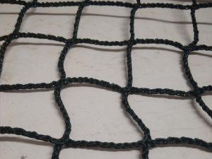 Schutznetz – knotenlos N (PET) 45/3,0 mm dunkelgrün
