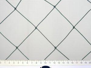 Großflächiges Abdecknetz für Weiher PET 80/2,0 mm dunkelgrün