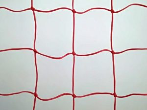 Netz für Skipiste 25 x 1,2m PET 120/3,5 mm rot