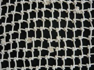 Handgeflochtenes Deko-Netz N, Baumwolle 60/7,0 mm