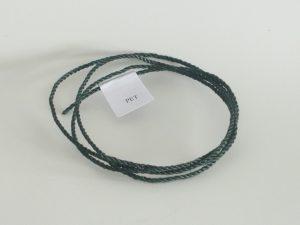 Kordel Polyethylen Ø 2,0 mm/ 150 g  gedreht, dunkelgrün