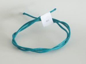 Kordel Polyethylen Ø 3,0 mm/ 150 g  gedreht, grün