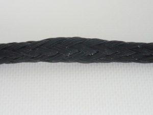 Seil Polyethylen Ø 5 mm/ 1m  geflochten, schwarz
