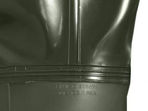 Fischerstiefel (Bruststiefel) Pross Größe 42 GRÜN - 4